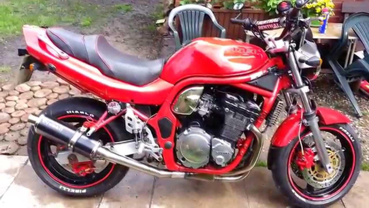1996 Suzuki Bandit 600 N - YouTube