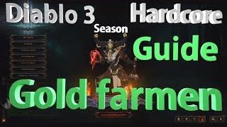 Diablo 3 GUIDE -Hardcore / Season - 2.1 | Gold farmen | [Deutsch] [HD]