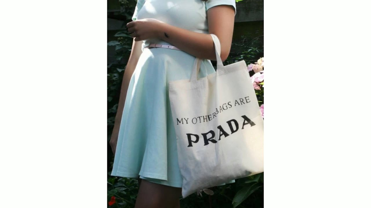 192f516c7e5 My Other Bags Are Prada Organic Cotton Tote Bag - For Her @ TheStore.com