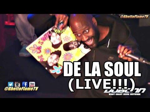 De La Soul Performance At Rhyme Fest 2016 | @GhettoFlameTV
