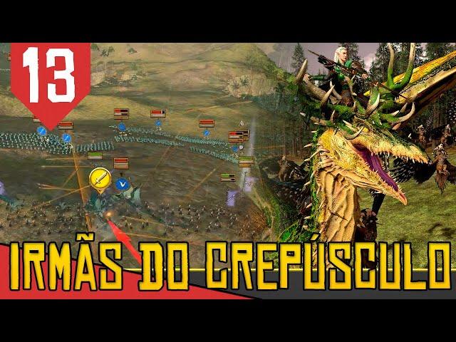 Ultimos ULTIMOS DEFENSORES - Total War Warhammer 2 Irmãs do Crepúsculo #13 [Gameplay PT-BR]