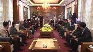 Đồng chí Nguyễn Thiện Nhân thăm và làm việc tại Cao Bằng