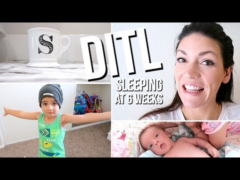 DAY IN THE LIFE OF A STAY AT HOME MOM // I Need More Sleep