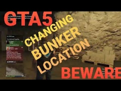 Exchanging my bunker for different location ' gtav gta5 gunrunning Dlc gta 5 v moc