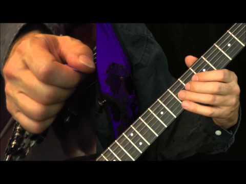 Blues Gitarrensolo lernen - Blueslick für E-Gitarre mit TABs (Tabulatur)