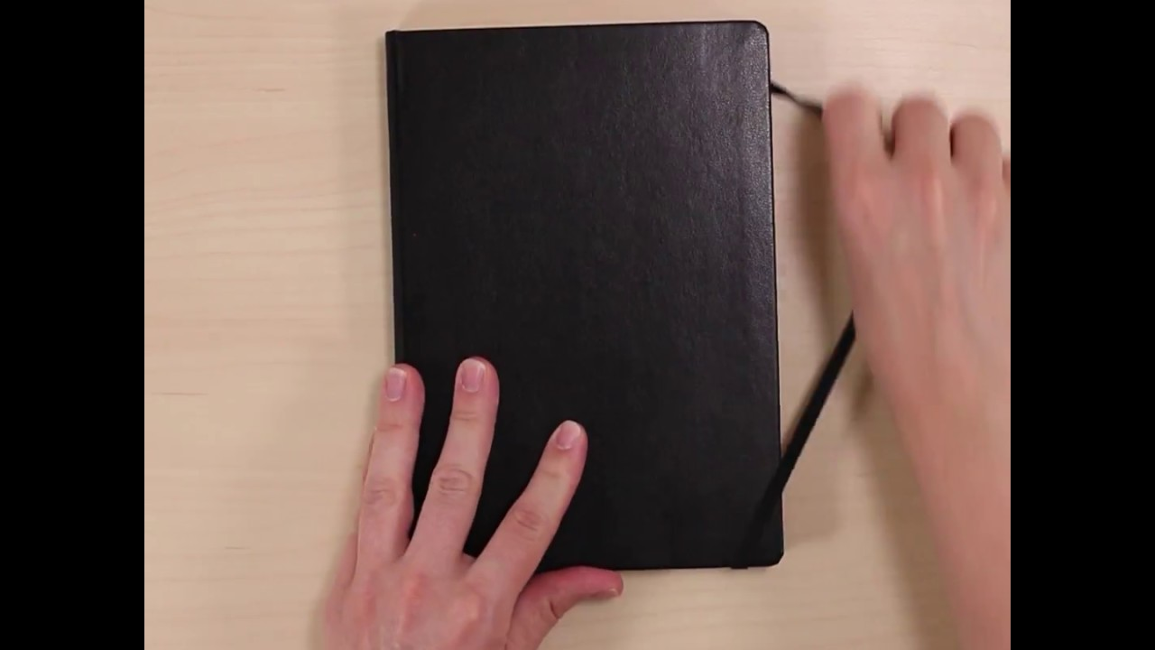 Leuchtturm1917 Medium A5 Lined Notebook Black Youtube Ruled A6 Moleskine Gold