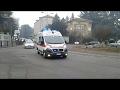 2 ambulanze in sirena contemporaneamente!!!CRI legnano 12-35+CRI Parabiago 14-02