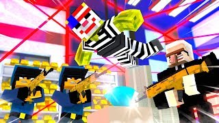 EINBRUCH im POLIZEI HAUPTQUARTIER?! - Minecraft