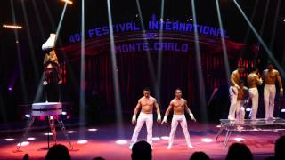 40th International Circus Festival of MonteCarlo -Peres Brothers,Pellegrini Brothers and Keryazov