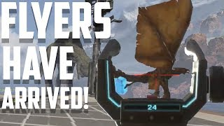 Apex Legends' Flyers are In the Game Right Now! Hunting Dragons For Loot!