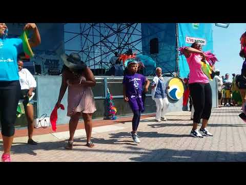 SOCA FITNESS performing at The 31st annual Caribbean Festival T