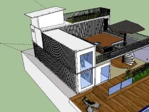 Projeto casa container 2016 youtube for Casas de container modernas