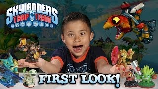Skylanders TRAP TEAM - Special FIRST LOOK - Figures & Extended Gameplay / Skylanders 4