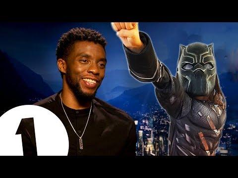 """You're like a kid!"" Black Panther's Chadwick Boseman on becoming a superhero."