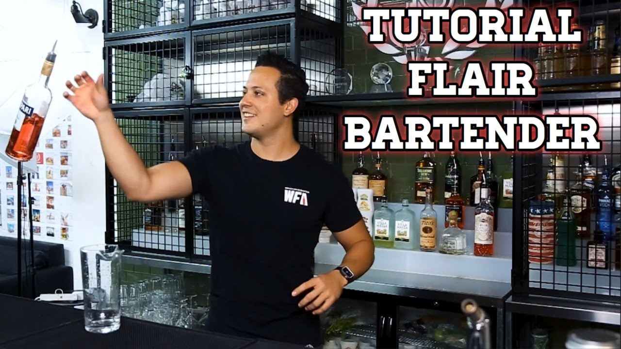 TUTORIAL BARTENDER/ TRUCOS EN BAR/ FLAIR BARTENDER
