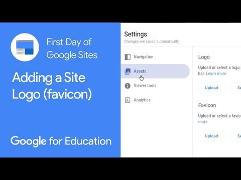 Add Favicon - New Google Sites