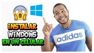 Instalar y Ejecutar Windows 10/8/7/ XP en Cualquier Telefono - NO ROOT 2017 Mejor Truco