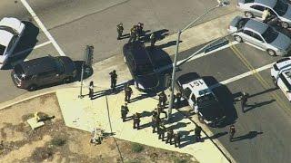 Woman describes scene near San Bernardino shooting
