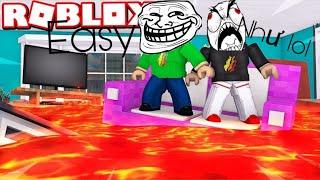 ROBLOX # 5 When fleeing lava