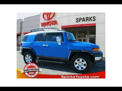 2007 Toyota FJ Cruiser Base at Sparks Toyota - 19294A