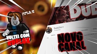 I'm GOING BACK TO RECORD ROBLOX!!! ET MON NOUVEAU CANAL DE FEU GRATUIT
