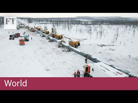 Russia Turns To China With Landmark Gas Pipeline