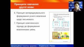 Особливості організації та проведення уроків з української мови в четвертому класі