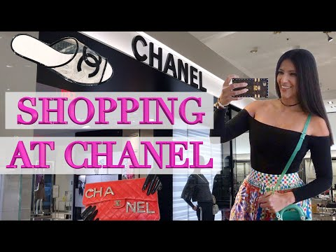 Shopping at Chanel in Dallas! New Shoes, Bags & Accessories!