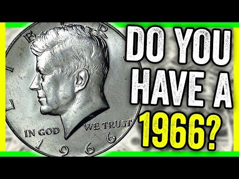 WHAT IS A 1966 HALF DOLLAR WORTH? RARE COIN VALUES AND PRICES