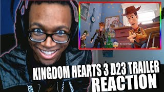 RELEASE DATE! NEW KINGDOM HEARTS III – Toy Story Trailer |【KINGDOM HEARTS III】 D23 EXPO 2017 Trailer
