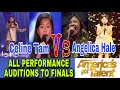 - America's got talent Angelica Hale & Celine Tam all performances from auditions to finals