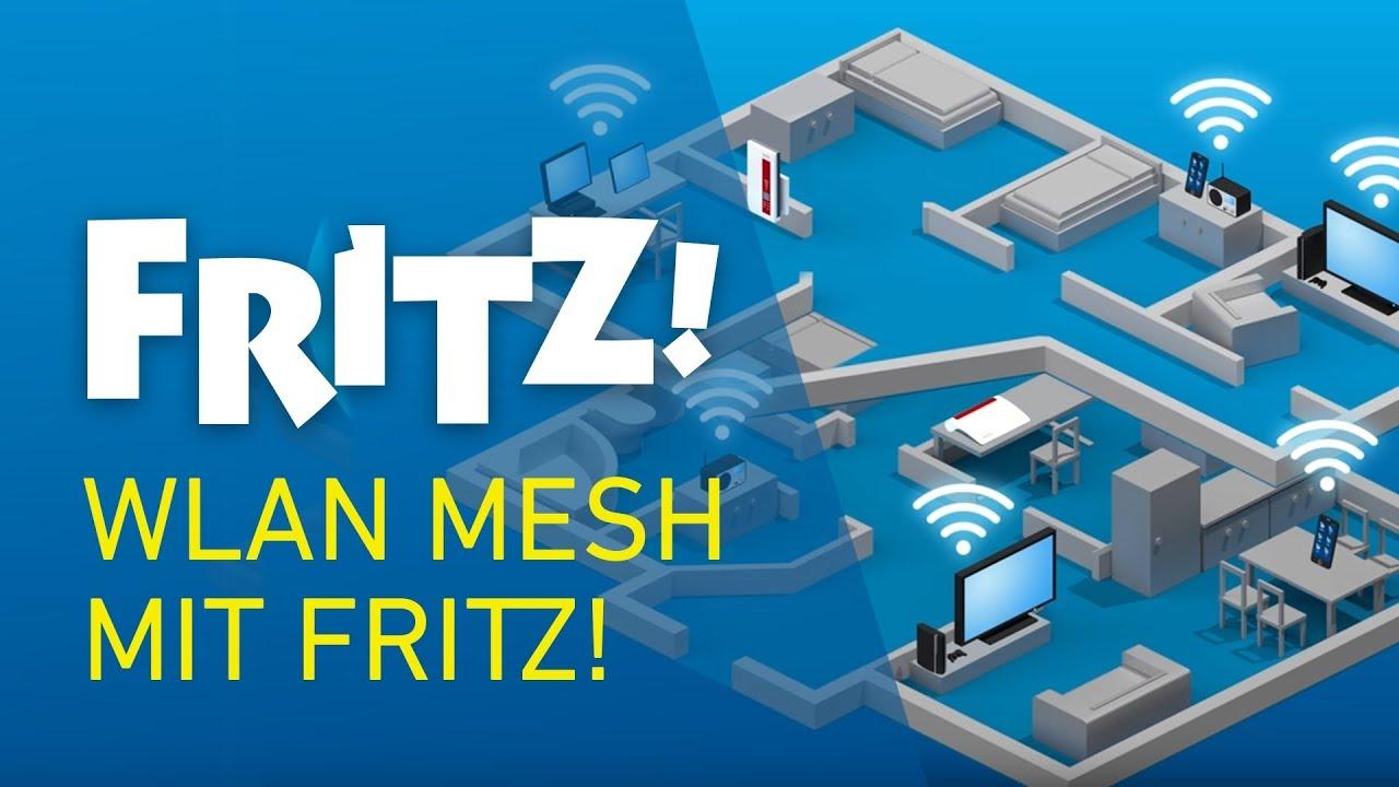 Wlan Mesh Mit Fritz Youtube