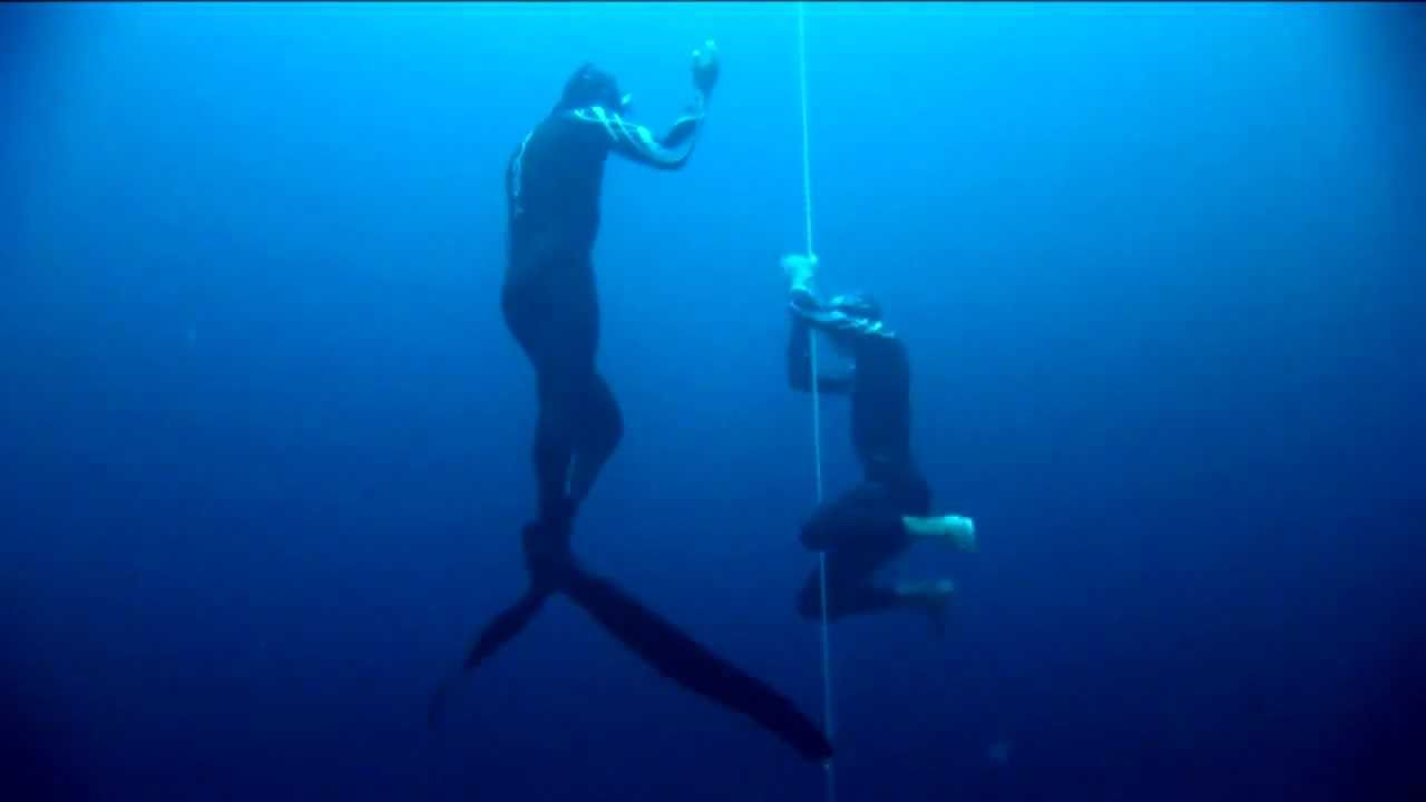 William Trubridge 101m CNF World Record Freedive