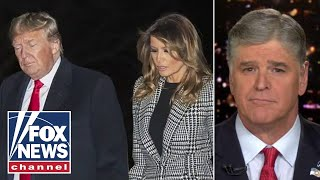 Hannity reacts to Trump testing positive for COVID-19 hours after interview