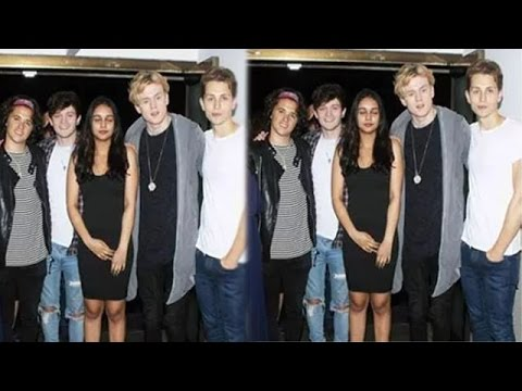 Shekhar Kapur's Daughter, Kaveri Collaborated With A British Boy Band 'The Vamps'