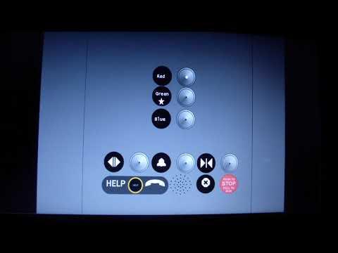Animated: Thyssenkrupp Elevator @ Fantech Stadium North Parking Garage
