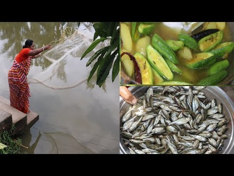 Every Village Women Lifestyle and Fishing / Village Fishing and Village Life