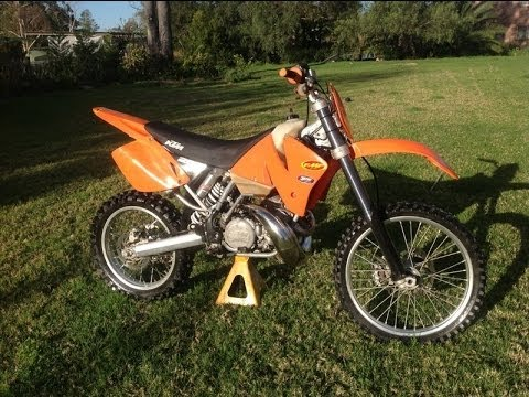 ktm 250 exc 2002 2stroke! for sale. sydney area. - youtube
