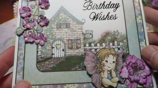 Heartfelt Creations Wildwood Cottage Shower & Birthday Card Share
