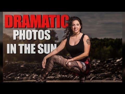 Dramatic Photos In The Sun w/ Flashpoint Xplor 600 HSS