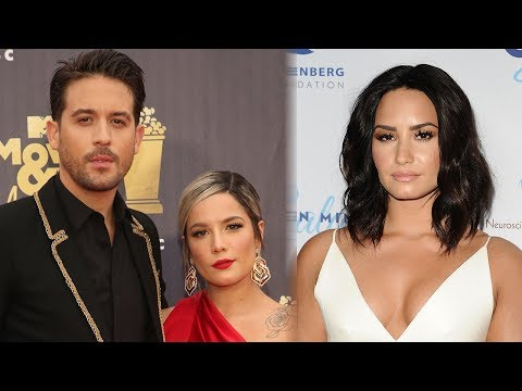 G-Eazy DENIES Demi Lovato Dating Rumors + He & Halsey Still In Touch?