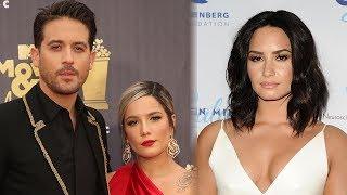 G-Eazy DENIES Demi Lovato Dating Rumors + He & Halsey Still In Touch?