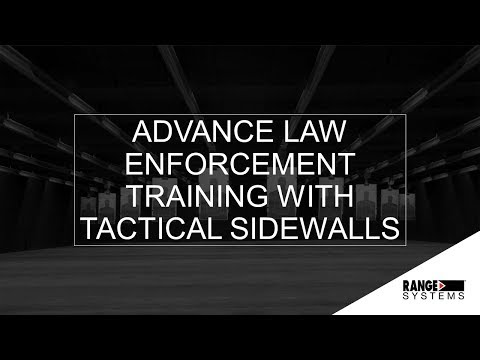 Advance Law Enforcement Training With Tactical Sidewalls | Webinar #6 Recording | Range Systems