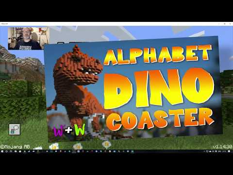 alphabet-dino-coaster---minecraft-marketplace-purchase-and-tour
