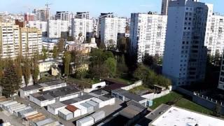 ЖК Малахит вид с балкона ж/д Вокзал(, 2017-04-17T06:02:11.000Z)