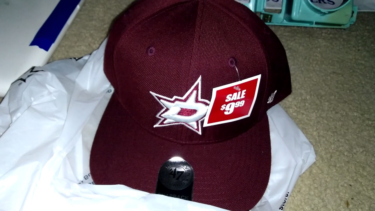 940cc92c8b6  4.99 Dallas Stars hats at footaction. - YouTube