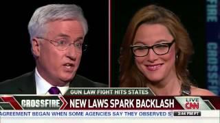 John Morse Calls Mag Ban Arbitrary on CNN