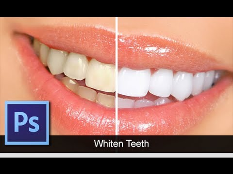 Adobe Photoshop Cs6 How To Whiten Teeth Quick Tip For Beginners