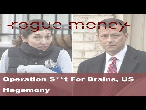 Rogue Mornings - Operation S**t For Brains, Evangelical Neocons & Decline of US Hegemony (5/17/2018)