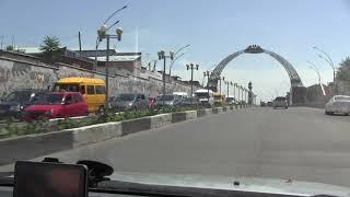 Кыргызстан 2017   отъезд из города ОШ